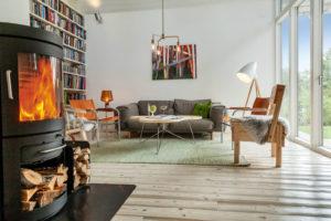 . Bohemian Nordic Interior Referenzprojekt Sedia Stuhl Enzo Mari Artek
