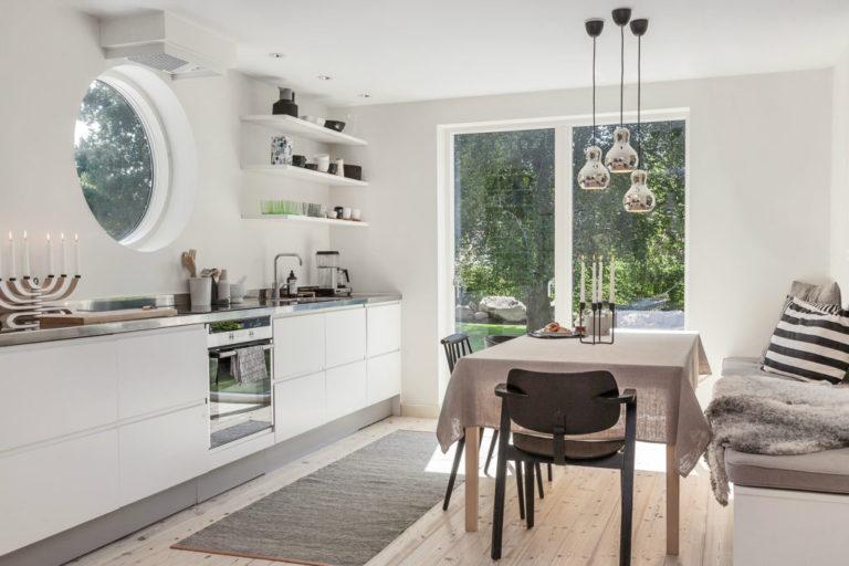 Bohemian Nordic Interior Referenzprojekt Domus Stuhl Ilmari Tapiovaara Artek